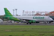 Airbus A320-232 (PK-GLF)
