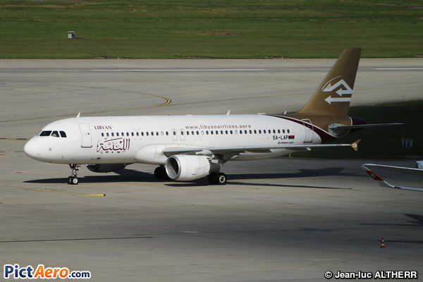 Airbus A320-214 (Lybian Arab Airlines)
