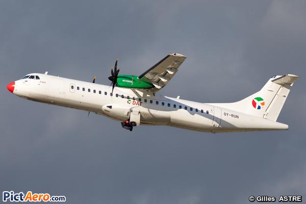 ATR72-600 (ATR72-212A) (Danish Air Transport (DAT))