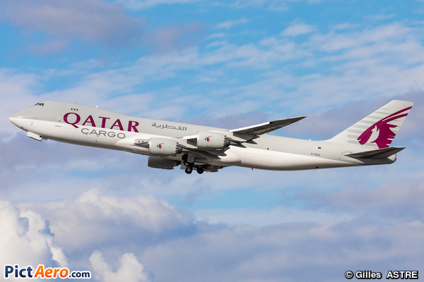 Boeing 747-87UF (Qatar Airways Cargo)