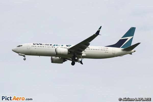 Boeing 737-8MAX (WestJet Airlines)