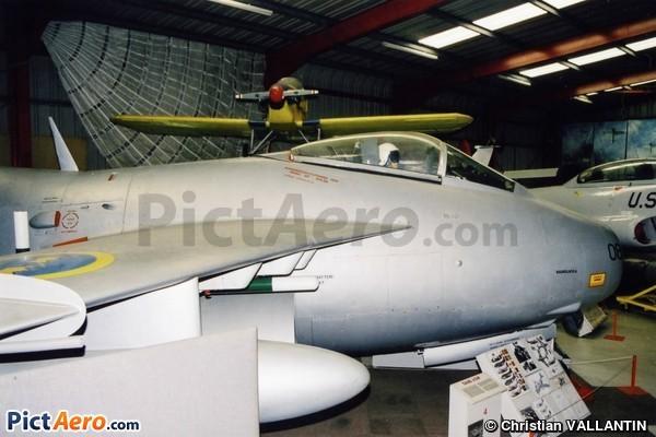 Saab J Tunnan (Midland Air Museum Coventry)