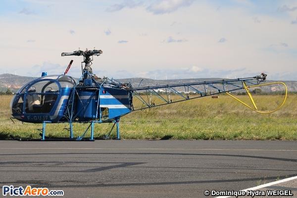 Aérospatiale SA-318C Alouette Astazou (privé)