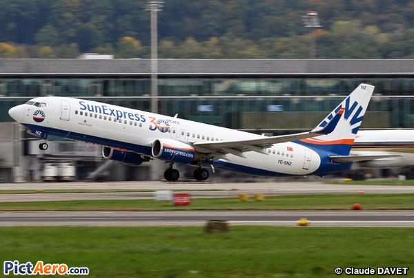 Boeing 737-86N/WL (SunExpress)
