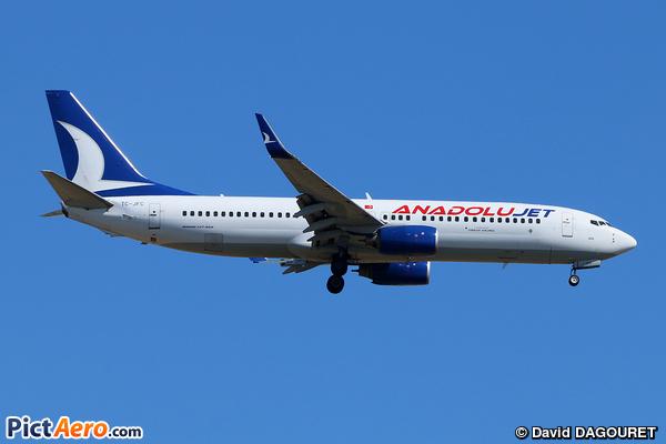 Boeing 737-8F2/WL (Anadolu Jet)