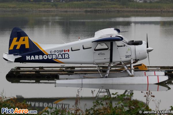 De Havilland Canada DHC-2 MK. III Turbo Beaver (Floats) (Harbour Air)