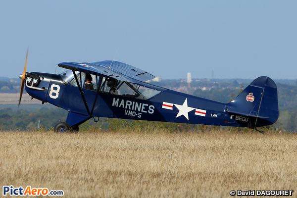 Piper J-3C-65 Cub (VALENTIN Claude)