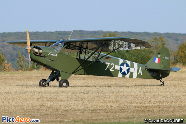 Piper J-3C-65 Cub (BEAUDIER Marc)