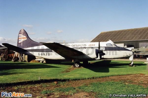 De Havilland DH-114 Heron 1B (Newark Air Museum)