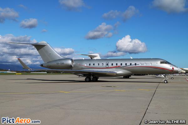 Bombardier BD-700-1A10 Global 6000 (Eden Jets)