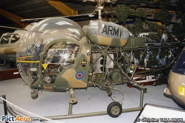 Westland AH.1 Sioux (Newark Air Museum)