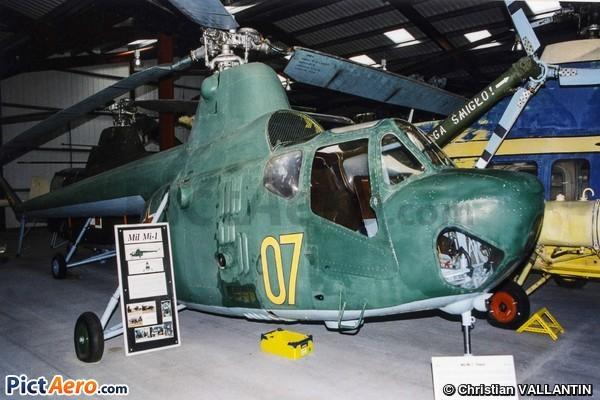Mil Mi-1 Hare (The Helicopter Museum (Weston))