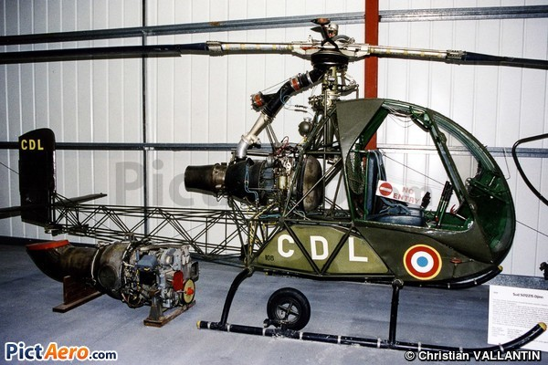 SNCASO SO-1221 01 Djinn (The Helicopter Museum (Weston))