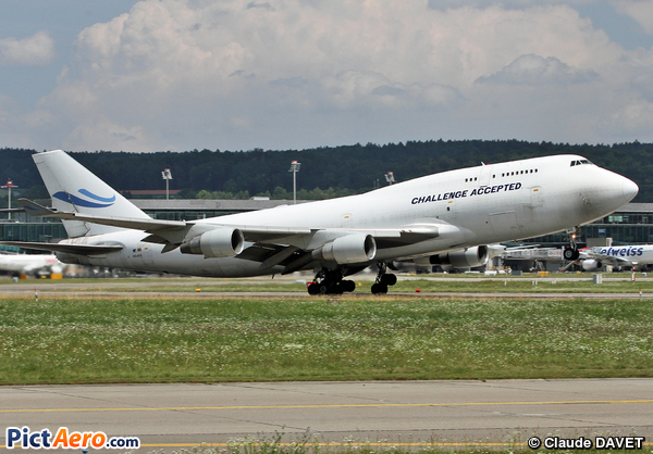 Boeing 747-412/BCF (Challenge Airlines)