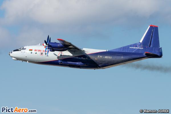 Antonov An-12BP (Rubystar)