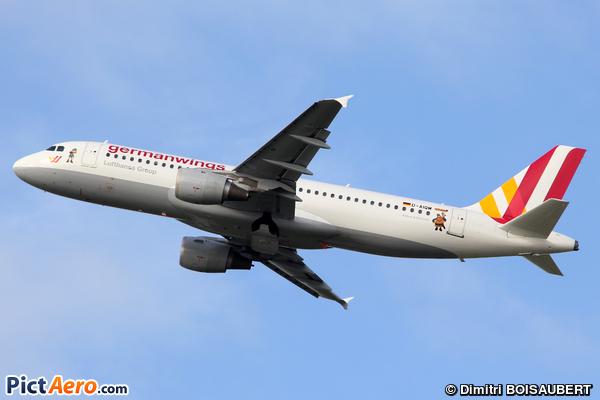 Airbus A320-211 (Germanwings)