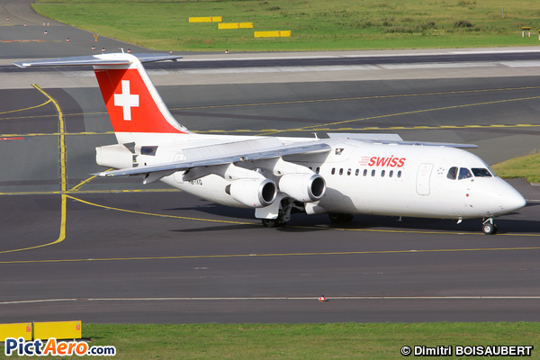 British Aerospace Avro RJ100 (Swiss International Air Lines)