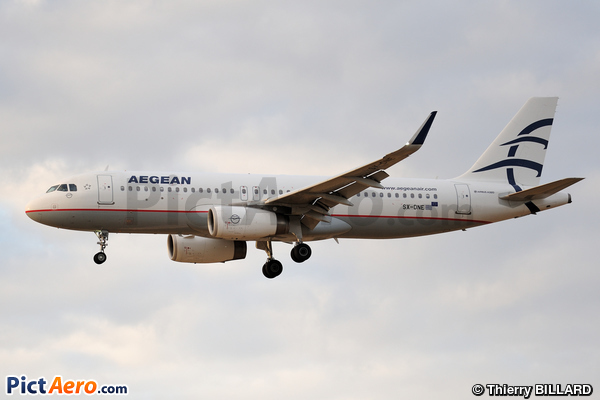Airbus A320-232/WL (Aegean Airlines)