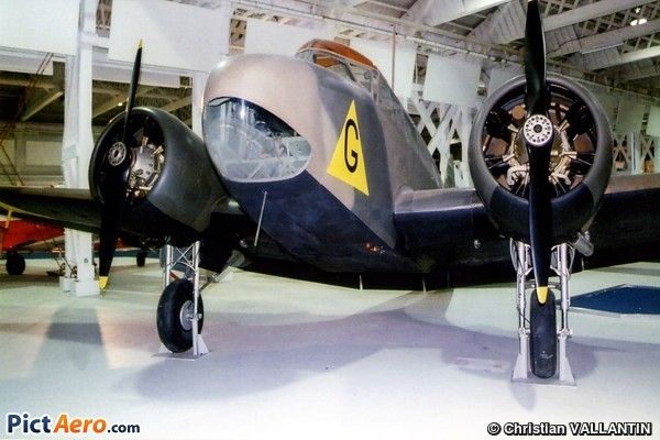 Airspeed AS-10 Oxford I (Royal Air Force Museum Hendon)