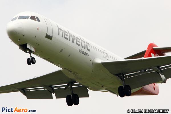 Fokker 100 (F-28-0100) (Helvetic Airways)