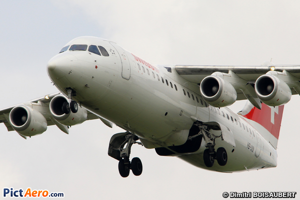 British Aerospace Avro RJ100 (Swiss European Air Lines)