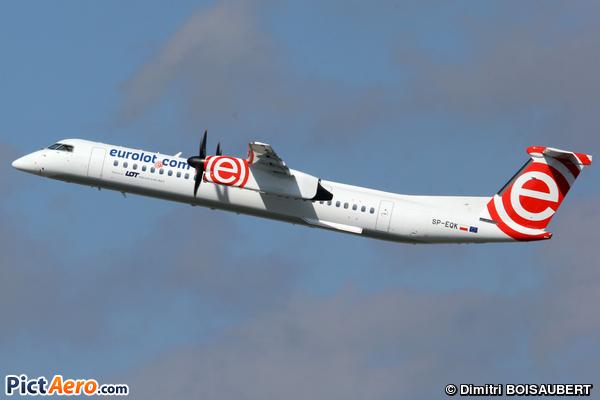De Havilland Canada DHC-8-402Q Dash 8 (EuroLOT)