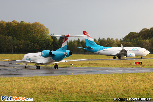 Embraer ERJ-145LU (Luxair - Luxembourg Airlines)