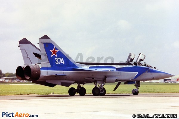 MiG-31 Foxhound (Russia - Air Force)
