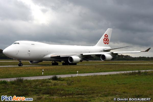 Boeing B747-4HQ/ERF (Cargolux Airlines International)