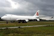 Boeing B747-4HQ/ERF (LX-ECV)