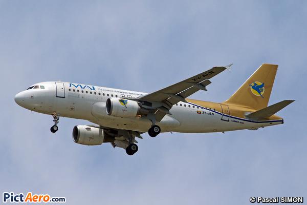Airbus A319-111 (Myanmar Airways International (MAI))