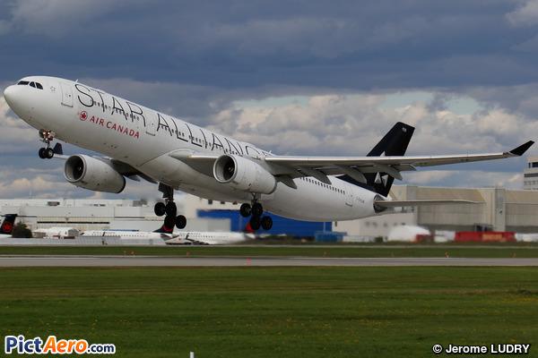 Airbus A330-343X (Air Canada)