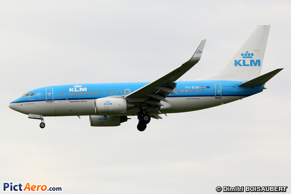 Boeing 737-7K5/WL (KLM Royal Dutch Airlines)