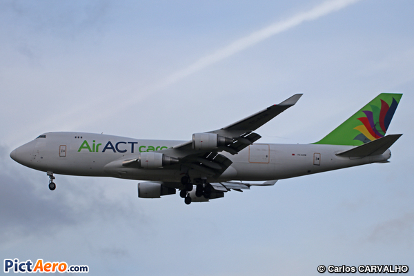 Boeing 747-428F/ER/SCD (ACT Airlines)