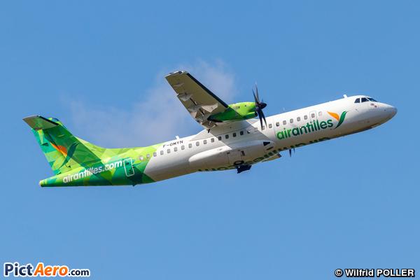 ATR72-600 (ATR72-212A) (Air Antilles Express)