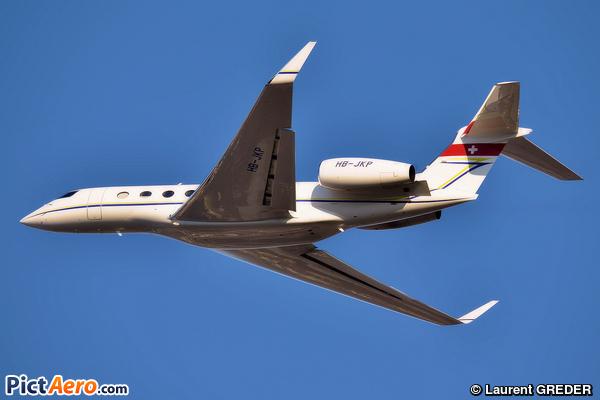 Gulfstream G650 (Jet Aviation Business Jets AG)