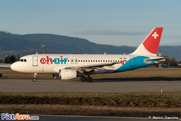 Airbus A319-112 (Chair Airlines)