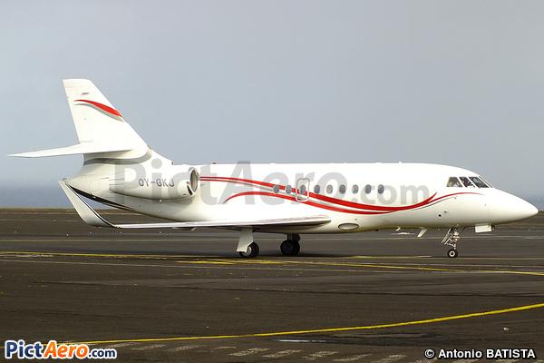 Dassault Falcon 2000EX (Kirk Aviation A/S)