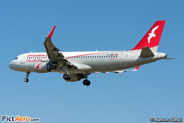 Airbus A320-214/WL (Air Arabia Maroc)