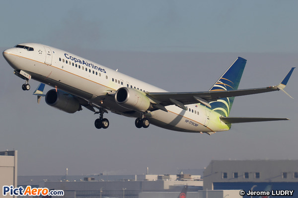 Boeing 737-8V3/WL (Copa Airlines)
