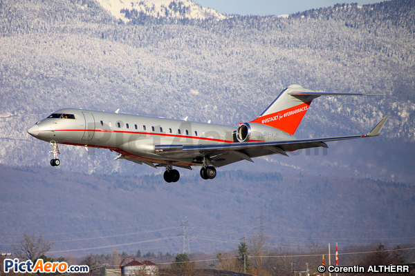 Bombardier BD-700-1A10 Global 6000 (VistaJet Ltd Malta)