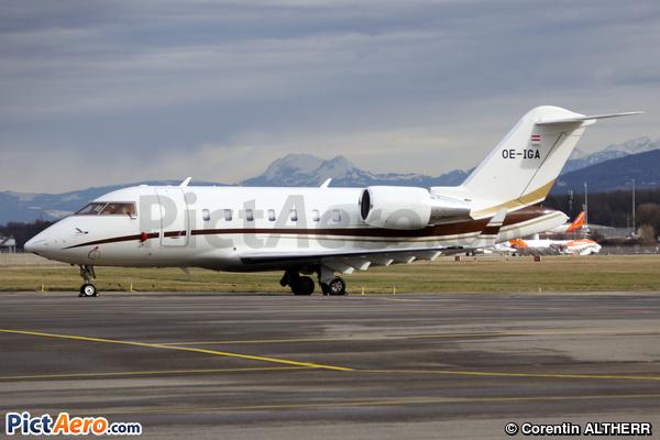 Canadair CL600-2B16 Challenger 650 (International Jet Management)