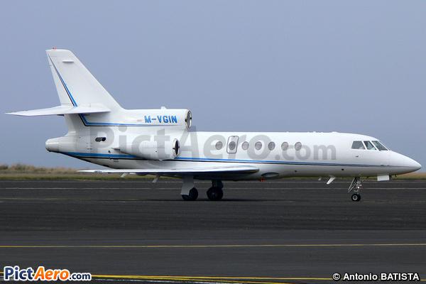 Dassault Falcon 50EX (Private / Privé)