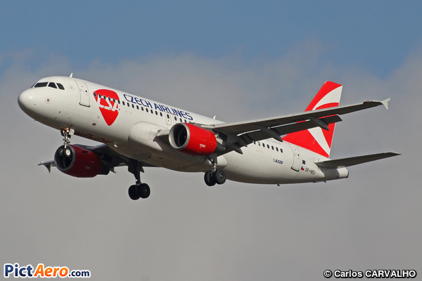Airbus A320-214 (CSA Czech Airlines)