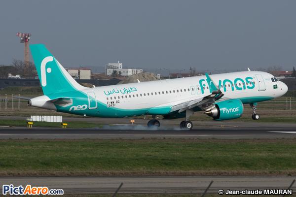 Airbus A320-271N  (Flynas)
