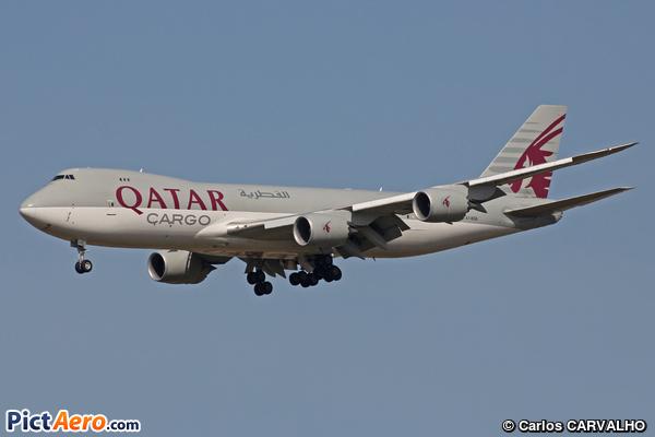 Boeing 747-83QF (Qatar Airways Cargo)