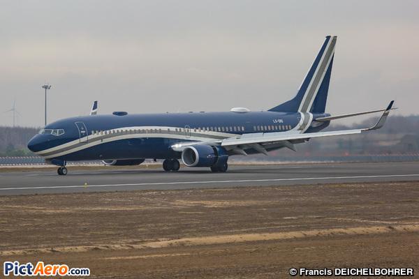 Boeing 737-97Y/ER (BBJ3) (Global Jet Luxembourg)