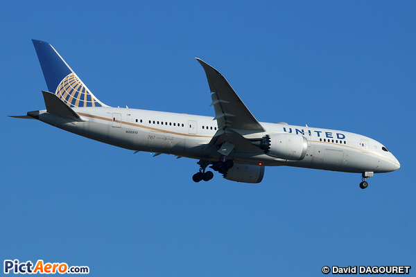 Boeing 787-8 Dreamliner (United Airlines)