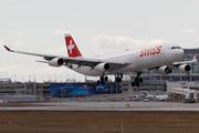 Airbus A340-313X (HB-JMH)