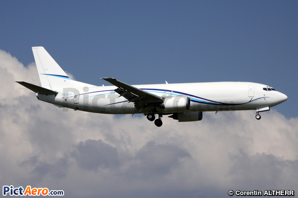 Boeing 737-4H6/SF (Liza Transport International)